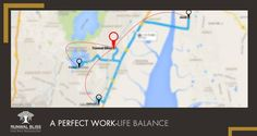 Enjoy easy access to Powai, Vikhroli and Airoli as you find your dream home at Runwal Bliss!