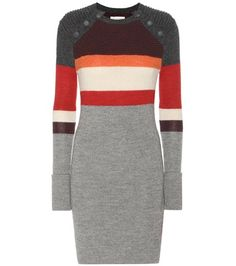 Isabel Marant, Étoile Duffy Knitted Wool Dress For Spring-Summer 2017