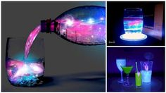 """If you're looking for a drink to """"light up the room"""" at your next party, try out this aurora cocktail!"""