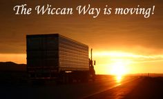 The Wiccan Way Is Moving!
