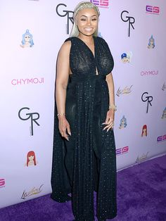 Blac Chyna Conceals Her Growing Baby Bump in Flowing Outfit at Chymoji Launch Party with Rob Kardashian Beautiful Outfits, Cute Outfits, New Emojis, Pregnant Baby, Blac Chyna, Fashion 2015, Launch Party, Baby Bumps, Brown Skin