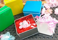 high quality small square tin box for soap