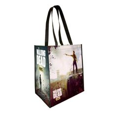 Tote Natural Cotton Fashion Shopper Bag Shopping Beach TWD The Walking Dead