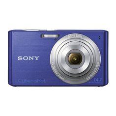 Câmera Digital Sony DSC-W610 CYBERSHOT / 14,1 MP / 4x Zoom Óptico / LCD 2.7'' - Azul - MultiStock