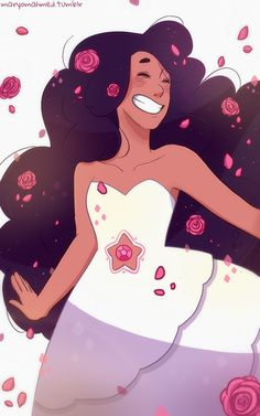 Stevonnie in Rose's dress, SU