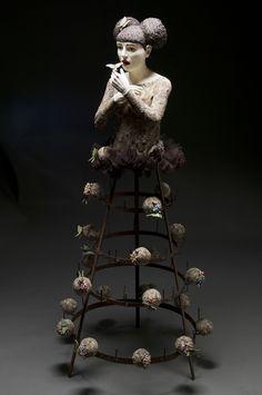 Fragiles sculptures de Kirsten Stingle -Blog Graphiste / Sculptures, photos, Ver & Vie….