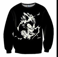 Majin Vegeta Prince Of Saiyan Dbz, Crew Neck Sweatshirt, Graphic Sweatshirt, T Shirt, Vegeta Shirt, Cool Dragons, Naruto And Sasuke, Color Negra, Hoodies
