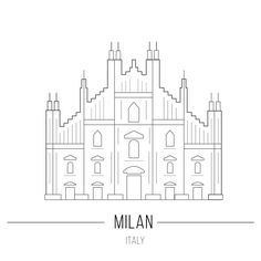 Line Icon Milan Cathedral Duomo Sight Stock Vector (Royalty Free) 335071442 Duomo Milano, Milan Duomo, Milan Instagram, Story Instagram, Travel Wallpaper, Emoji Wallpaper, Cathedral Tattoo, Milan Cathedral, Bullet Journal Travel