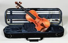 This full size Flame Maple Violin possess all the characteristics of a professional violin including; spruce tone wood, hand selected and finished maple body and ebony fingerboard Heartland, Musical Instruments, Music Instruments, Instruments
