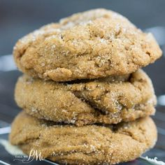 Blue Ribbon Chewy Molasses Ginger Cookies fat, soft cookies, with that old-fashioned molasses flavor! Get the #recipe> http://www.callmepmc.com/blue-ribbon-chewy-molasses-ginger-cookies/?utm_campaign=coschedule&utm_source=pinterest&utm_medium=Paula%20%7C%20CallMePMc.com&utm_content=Blue%20Ribbon%20Chewy%20Molasses%20Ginger%20Cookies follow me on FB…