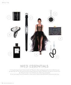 Wed Essentials Black #inspiration #ideas #weddingideas #weddinginspiration