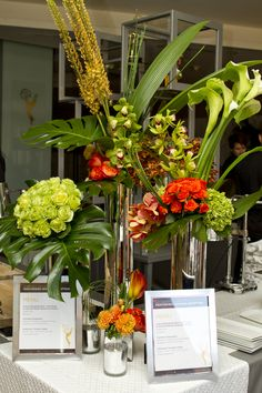 The Emmys, Awards, Reception, Tropical, Table Decorations, Home Decor, Decoration Home, Room Decor, Receptions