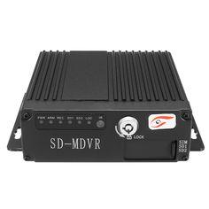 12V 4CH Control remoto HD Coche DVR Grabadora de video en tiempo real SD RV Mobile SW0001A