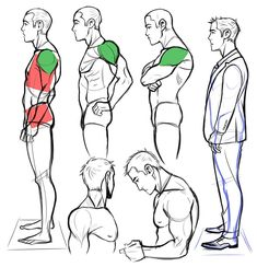 Exceptional Drawing The Human Figure Ideas. Staggering Drawing The Human Figure Ideas. Male Figure Drawing, Body Reference Drawing, Body Drawing, Anatomy Reference, Art Reference Poses, Body Sketches, Anatomy Sketches, Side View Drawing, Human Anatomy Drawing