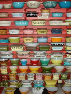 Pyrex Museum, Bremerton, WA.. I think I need to go here someday.. its like a Pyrex dream!