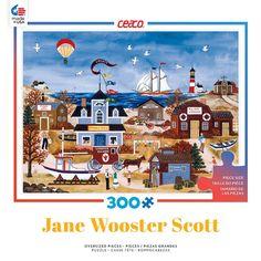 Seaside Splendor - 300 Oversized Piece Jigsaw Puzzle