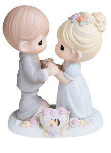 "Wedding anniversary gifts:Precious Moments ""A Decade Of Dreams Come True"" Figurine"
