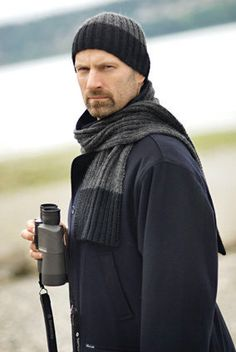 As a yarn shop owner I see a lot of patterns and I always return to this one for the men in my life.  http://www.appleyarns.com/products/berroco-ultra-alpaca
