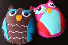 I have a thing for owls and these are just too cute!