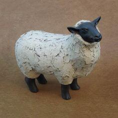 Orchard Pottery Suffolk Sheep