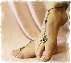 Anchors away barefoot sandals   bronze barefoot sandals   nautical wedding barefoot sandals