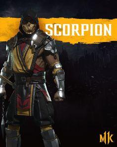 10 Best Mortal Kombat 11 Cosplay Scorpion Halloween Man Hanzo Hasashi White Red Costume Images