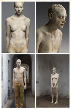 Wood Carvings by Bruno Walpoth Amazing! They look so life like! Pottery Sculpture, Wood Sculpture, Sculptures, Bronze Sculpture, Anatomy Sculpture, Modelos 3d, Figure Drawing, Figurative Art, Wood Art