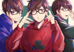 pixiv(ピクシブ)は、作品の投稿・閲覧が楽しめる「イラストコミュニケーションサービス」です。幅広いジャンルの作品が投稿され、ユーザー発の企画やメーカー公認のコンテストが開催されています。 Anime Glasses Boy, Sans Art, Otaku, Ichimatsu, Hot Anime Guys, Light Novel, Haikyuu Anime, Me Me Me Anime, Anime Characters