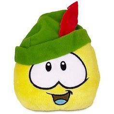 Disney Club Penguin 4 Sherwood Yellow Pet Puffle >>> Visit the image link more details.