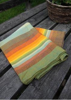 Girasol Double Rainbow Gold Picnic Blanket, Outdoor Blanket, Baby Wrap Carrier, Woven Wrap, Babywearing, Baby Wraps, Baby Gear, Beach Mat, Stripes