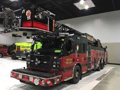 FDIC International 2017 Fire Apparatus on the Show Floor