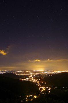 Starry starry night, Calci, Tuscany, Italy
