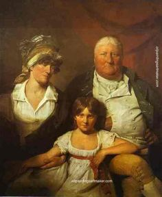 William chalmers bethune his wife isabella morison and their daughter isabella 1804 xx national gallery of scotland edinburgh uk by Sir David Wilkie Oil painting reproduction Art Pop, David Wilkie, Aberdeen Art Gallery, Free Art Prints, Painting Still Life, Oil Painting Reproductions, Your Paintings, Canvas Art, Artwork