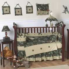 Now that we know we are having a boy we can pick out stuff (: love this, its camo like he wants but not going over board
