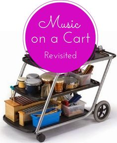 A blog post with advice for teaching music from a cart. In case I ever need this...