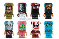 First Look at the upcoming Behind the Mask Vinylmation Series | Vinylmation World