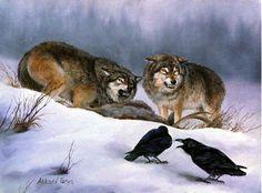 malerei_wolf_rabe.jpg (440×325)