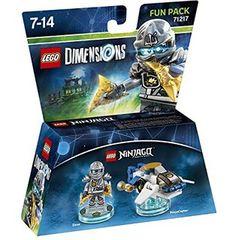 Figurine 'Lego Dimensions' - Zane - Lego Ninjago