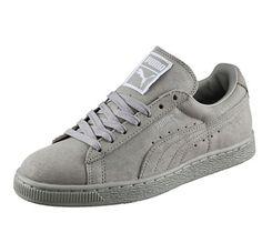 Puma Suede Matt #puma #grey #shoes