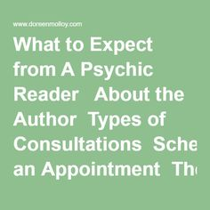 What to Expect from A Psychic Reader   About the Author  Types of Consultations  Schedule an Appointment  The Book Corner PROOF  POSITIVE: Metaphysical Wisdom  Free:  Book Introduction  Reviews and Testimonials  New Book - Coming Soon: Mass Deception  Register for a Saturday Afternoon Workshop  FAQ  Event Schedule  Meditation  Psychic Medium, John Edward  Colleagues & .Org's  WEB LINKS Updated  Monthly   Other Interests   Grief Recovery Experiencing Loss  Knowledge is Power  Published…
