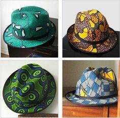 Babatunde's African prints hats ~African fashion, Ankara, kitenge, African women dresses, African prints, Braids, Nigerian wedding, Ghanaian fashion, African wedding ~DKK