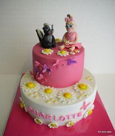 girls cake/taart