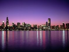 My favorite skyline... I will always ♥ Chicago!