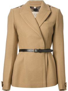 Shop Burberry Brit belted coat in Segreto from the world's best independent boutiques at farfetch.com. Over 1000 designers from 60 boutiques in one website.