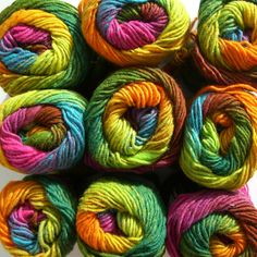 Noro yarn: my favorite brand. You just can't beat the colors!