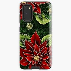 Green Christmas, Christmas Themes, Christmas Gifts, Samsung Cases, Samsung Galaxy, Phone Cases, All Design, Protective Cases, Red Green