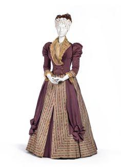 Worth dress ca. 1890 From LACMA