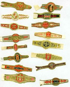 cigar bands to use with shrinky dinks