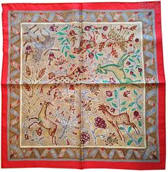 Pavements Gavroche.  Collections | HSCI Hermes Scarf Photo Catalogue