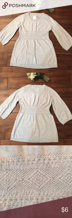 Girls size 12 top Light weight sweater Justice Shirts & Tops